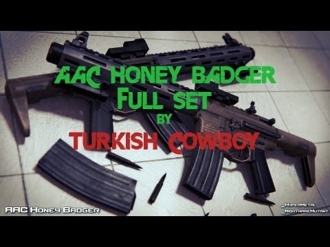 AAC Honey Badger Full Set