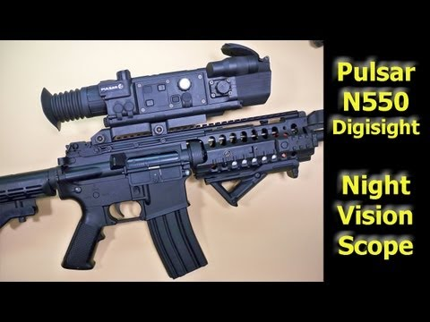 Pulsar N550 Digisight Night Vision Rifle Scope - REVIEW