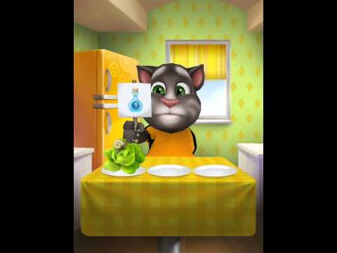 [My Talking Tom] I HATE SPINACH!!!!