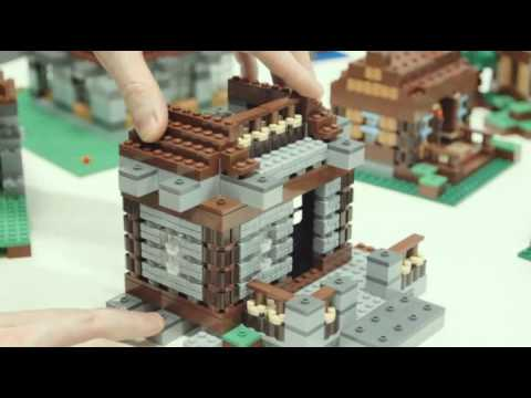 Minecraft Lego House LEGO Minecraft Co-Build