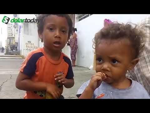 DURA REALIDAD! En el corazón de Venezuela! Los niños con hambre una promesa sin cumplir