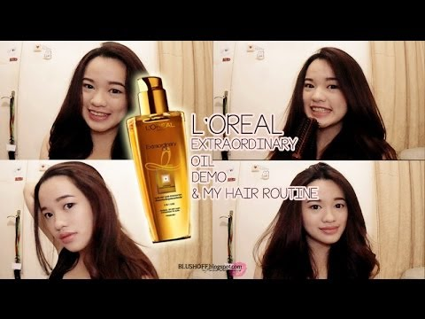 Extraordinary Oil L'oreal Review L'oreal Extraordinary Oil