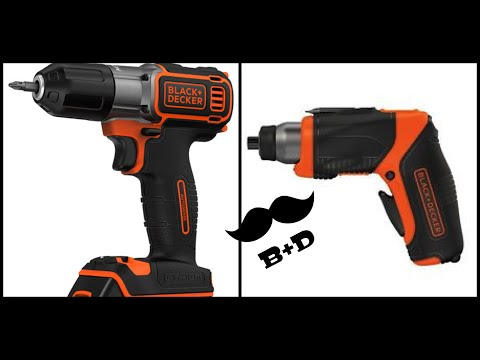BLACK & DECKER SENSITIVE Y ATORNILLADOR 4V.