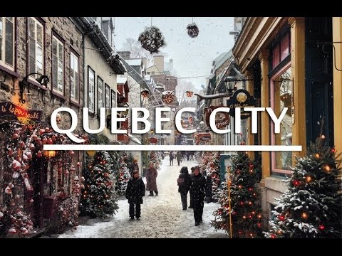 Travel Guide to Quebec City (HD)