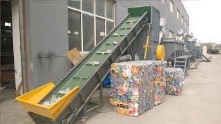PET Washing Line, PET Bottle Recycling Machine, PET Bottle Washing Plant