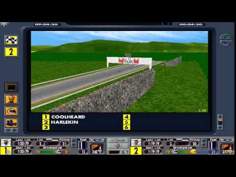 F1 Manager Professional - 1997 PC Game, gameplay