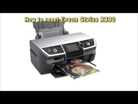 Reset Epson R390 Waste Ink Pad Counter