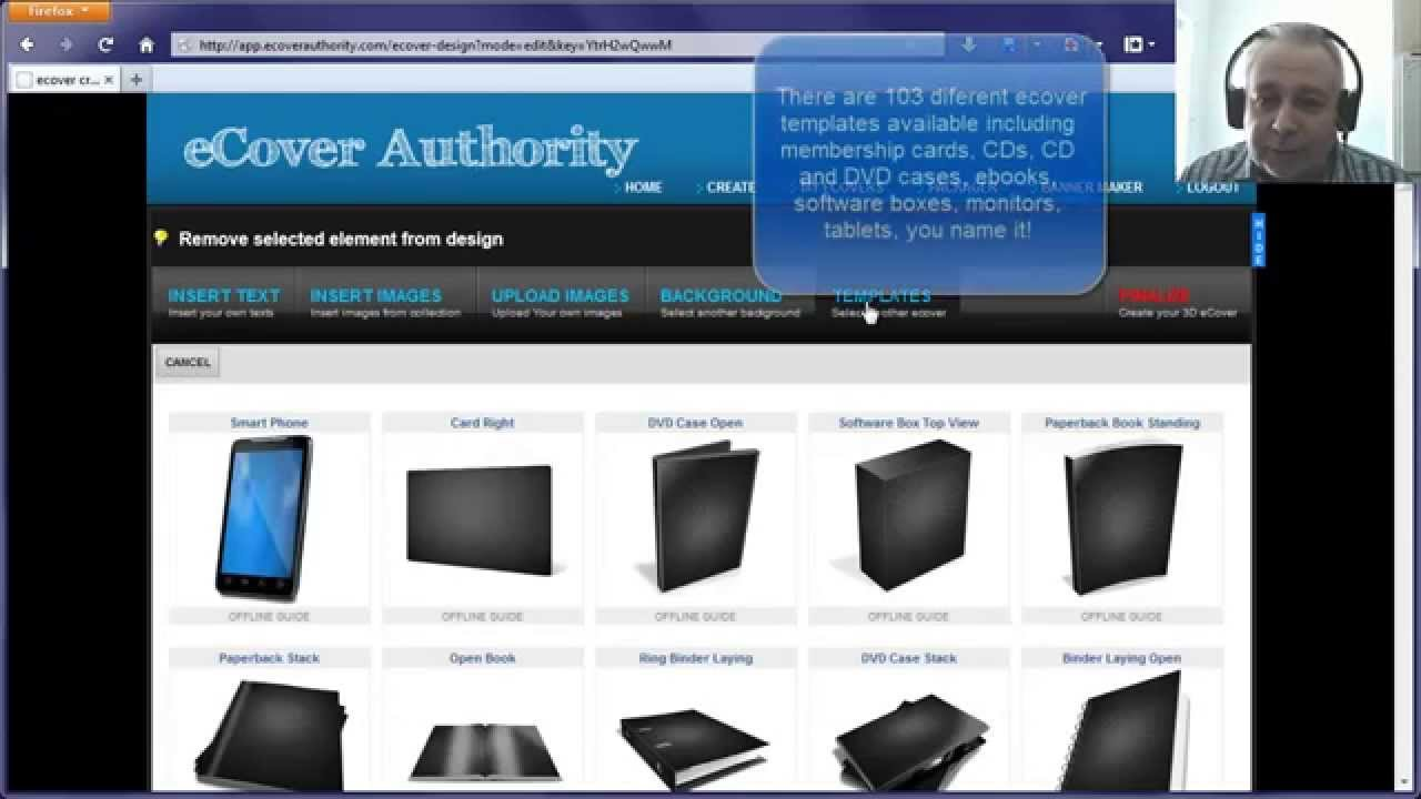 Ecover creator 3d for 3d creator online