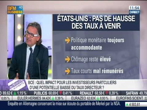 Baisse de taux à la BCE, quelles conséquences pour les investisseurs