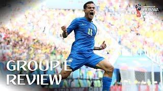 Brazil and Switzerland progress - Group E Review!
