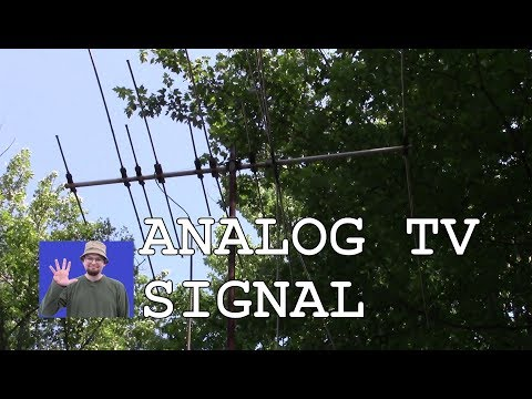 STILL ANALOG TV BROADCAST OVER THE AIR CHANNELS CANADA