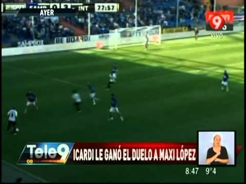 Icardi le ganó el duelo a Maxi López