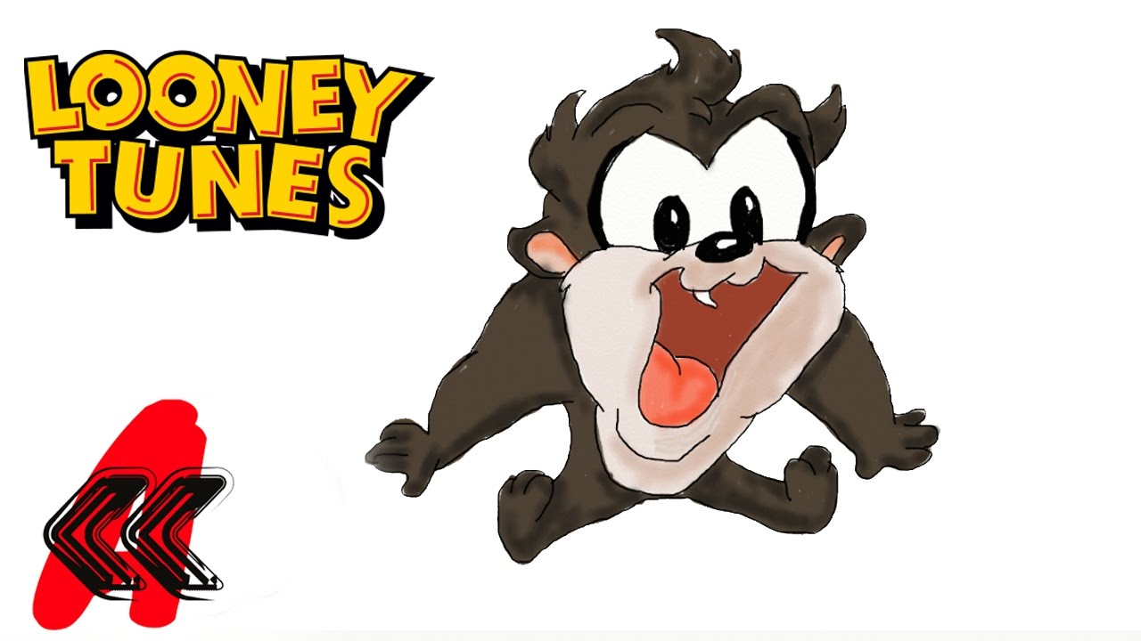 Tasmanian devil baby looney tunes