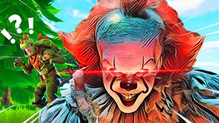 Pennywise voice CHANGING IMPRESSIONS on Fortnite | Pennywise Voice Trolling