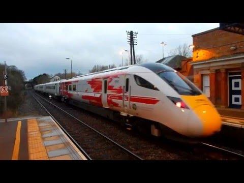 Class 20s and IEP Hitachi Train at Melton Mowbray