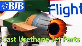 Cast Urethane Parts for RC Jet