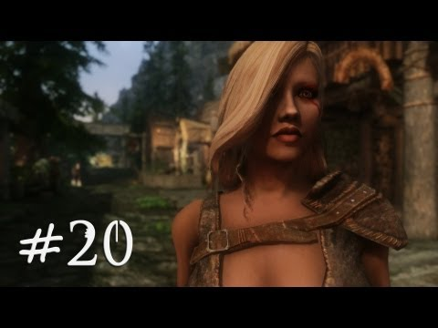 The Elder Scrolls V: Skyrim Gameplay (Modded) - Succubus Breton - Part 20