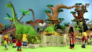 Toy Dinosaurs Zoo  and Learn Dino Names Fun Video For Kids