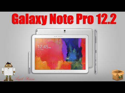 1º Unboxing Brasileiro - Samsung Galaxy Note Pro 12.2 32GB 4G SM-P905M (Português)