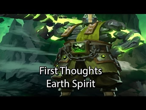 Dota 2 First Thoughts: Earth Spirit