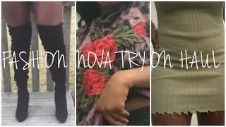 FASHION NOVA TRY ON HAUL/ LOOKBOOK ♡