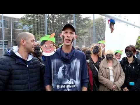 Demonstratie voor behoud Zwarte Piet in Den Haag