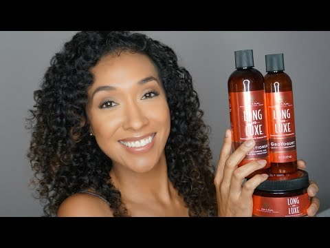 As I Am Long and Luxe Full Line Review   RisasRizos