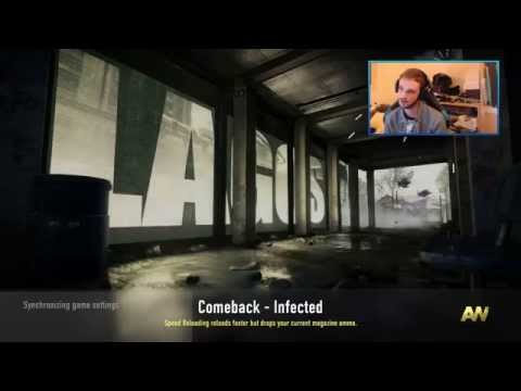 Advanced Warfare INFECTED Gameplay LIVE w/ Ali-A -