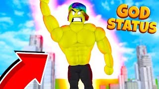 USING 1 MILLION SKULLS TO REACH GOD STATUS (Roblox Super Power Training Simulator)