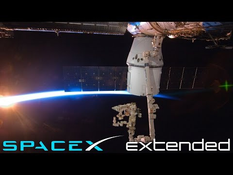 SpaceX Dragon docks with the International Space Station (HD)
