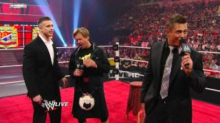 Raw Pipers Pit with The Miz and Alex Riley