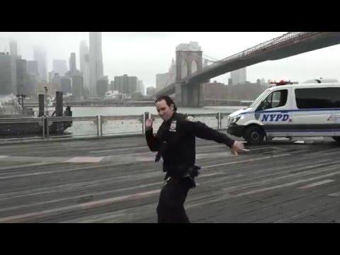 NYPD Running Man Challenge