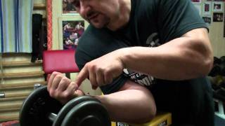 Biceps training 40 - Training of Arm wrestling (Polish version)