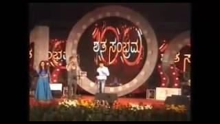 Hejjegondu hejje song live#ManasaHolla@Manikanth Kadri Concert