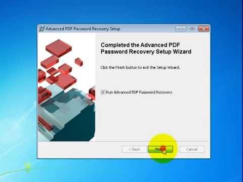 Видео как снять пароль pdf файла