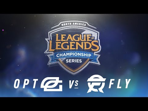OPT vs. FLY - Week 2 Day 2 | NA LCS Spring Split | OpTic Gaming vs.FlyQuest(2018)