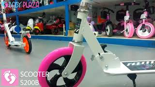 So sánh Xe trượt Scooter Broller S200A & S200B Baby Plaza