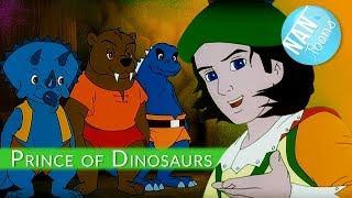 Cartoon for kids: PRINCE OF DINOSAURS | cartoon movie | english cartoon | animated movie | EN