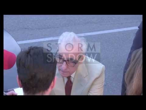 Martin Scorsese and Brian Ferry having dinner at Tetou restaurant in Cannes