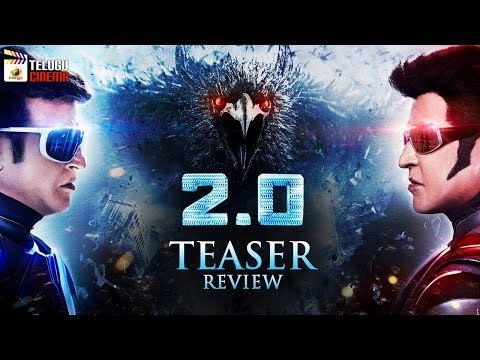 Robo 2.0 TEASER Review | Rajinikanth | Akshay Kumar | Amy Jackson | AR Rahman | Telugu Cinema