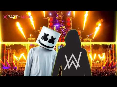 DJ Alan walker vs DJ Marshmello - Alone Vs Faded BreakBeat Remix 2017