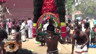 jaffna Madduvil Panriththalachchi Amman pankuni thingal day 4 monday  kavadi HD video 8-4-2013