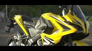 Bajaj Pulsar RS200 - The Benefits of ABS (Anti-lock braking system)
