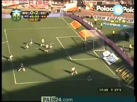 Gol de Marcos Rojo a River Plate