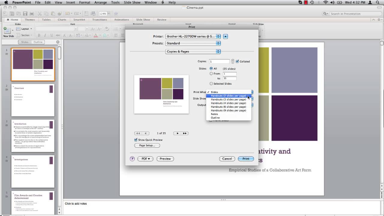 how to add page numbers to slides in powerpoint 2013