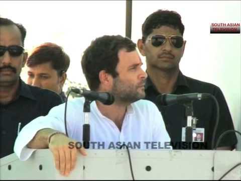Rahul Gandhi unprepared speech