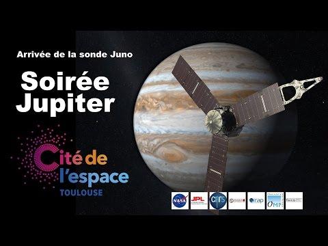 Soirée Jupiter à la Cité de l'espace pour l'arrivée de la sonde Juno