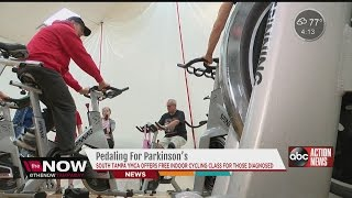 Indoor cycling gives Parkinson's patients hope