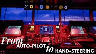 Life At Sea | How to switch from Auto Pilot to Hand Steering | HD
