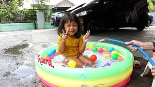 Mainan Anak Kolam Renang Balon Super Mini | Swimming Pool Kids Fun